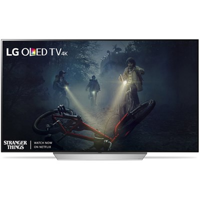 OLED55C7P - 55` C7P OLED 4K HDR Smart TV (2017 Model) - Refurbished