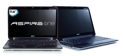 Aspire one 11.6` Netbook PC - White (AO751H-1351)