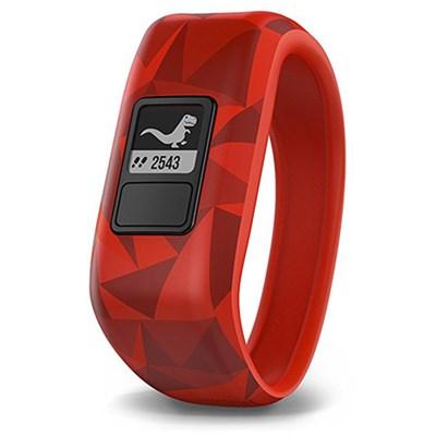 Vivofit Jr. Activity Tracker for Kids, Regular Fit - Broken Lava (010-01634-00)