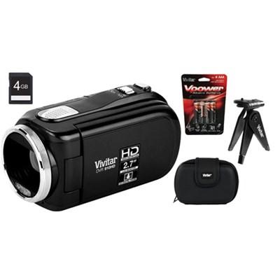 High Definition Digital Video Recorder 910 Black w/ Accessories + 4GB SD Card