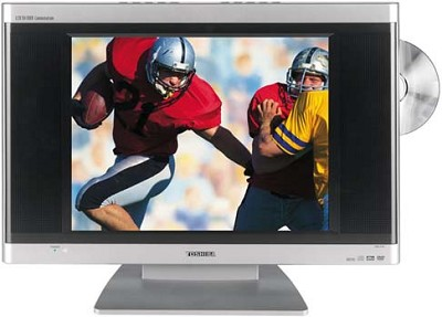 15DLV76 - 15` LCD TV w/ built-in DVD Player