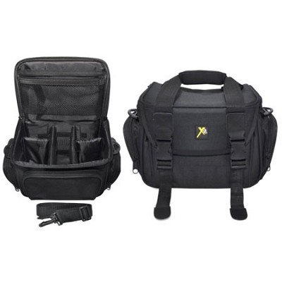Deluxe Digital Camera/Video Padded Carrying Case