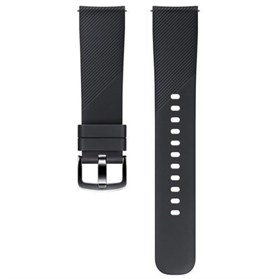 Gear Sport Silicone Band (20mm) - Black - ET-YSN60MBEGUS