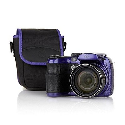 X550 16MP 15X Wide-Angle Optical Zoom 2.7 LCD Camera with Case