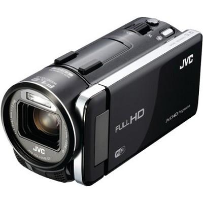 GZ-GX1BUS - HD Everio Camcorder 3.5` Touchscreen 10x Zoom f1.2  WiFi (Black)