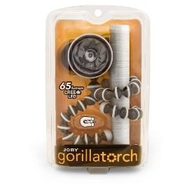 Gorillatorch Powerful Magnetic/Wrappable Feet Light (Black/Gray)