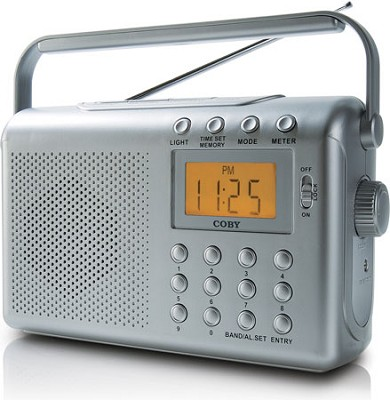 Portable PLL AM/FM/NOAA Weather Band Radio