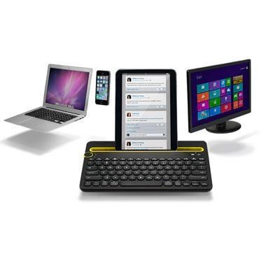 K480 - Bluetooth Multi-Device Keyboard in Black - 920-006342