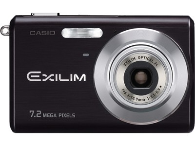 EX-Z70 7MP with 3X Optical Zoom and Anit-Shake 2.5` LCD Display (Black)