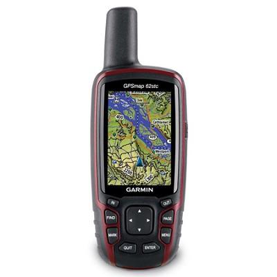 GPSMAP 62stc US Topo Handheld Navigator