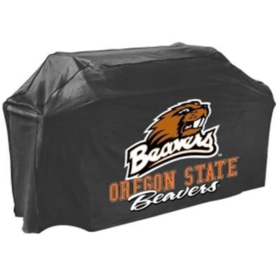 Oregon State Grill Cover in Black - 07727BEAVGD