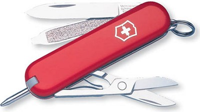 Signature Pocket Tool (Red)