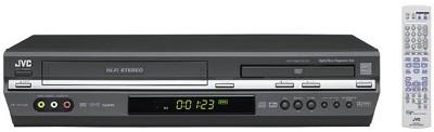 HR-XVC28B DVD + VCR Combo Unit (Black)