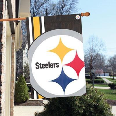 Steelers 2'x3' Bold Logo Banne