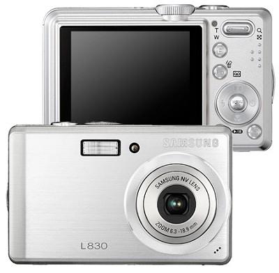 Digimax L830 8.1 MP Digital Camera (Silver)