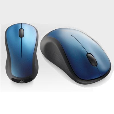 M310 Wireless Mouse in Peack Blue - 910-001917