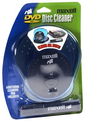Wet Disc Radial Cleaner for CD, DVD and CD-ROM discs