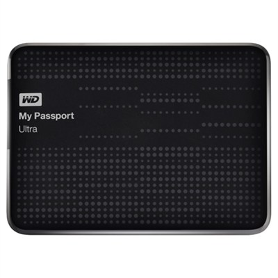 My Passport Ultra 2 TB USB 3.0 Portable Hard Drive - -NESN (Black) - OPEN BOX