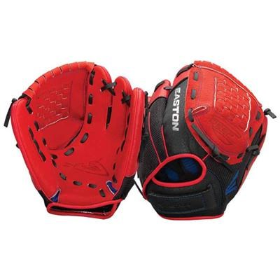 ZFX1100RDRY - Z-Flex Left Hand Throw 11` Youth Ball Glove in Red - A130637LHT