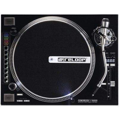 RP-8000 Advanced Hybrid Torque Turntable with Upper-Torque Direct Drive, Black