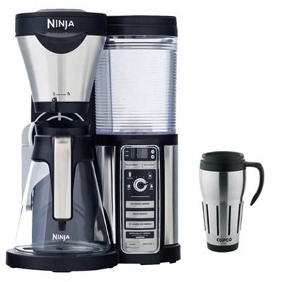 CF080 Coffee Bar Auto-iQ Brewer w/ Glass Carafe w/ Copco 24oz Travel Mug Bundle