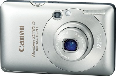 Powershot SD780 IS 12MP Digital ELPH Camera (Silver)