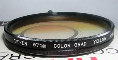 67mm Color-Grad Yellow Filter - Sunrise
