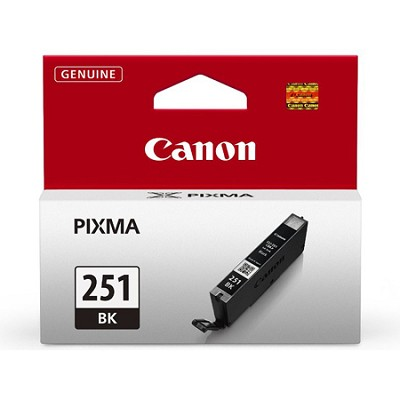 CLI-251 Black Ink Tank for PIXMA iP7220, MG5420, MG6620 Printers