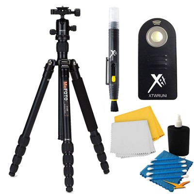 A1350Q1K Roadtrip Travel Black Tripod Accessory Kit