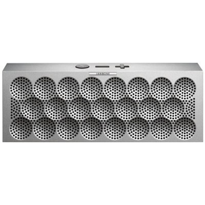 MINI JAMBOX Wireless Bluetooth Speaker - Silver Dot - OPEN BOX