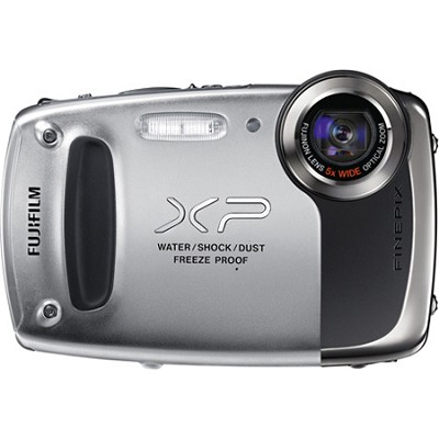 Finepix XP50 14MP CMOS Digital Camera (Silver)