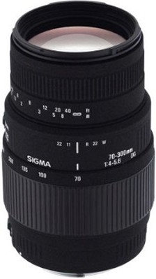 70-300mm f/4-5.6 DG Macro Telephoto Zoom Lens for Canon SLR Cameras