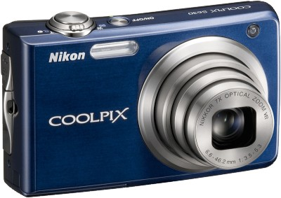 COOLPIX S630 Digital Camera (Midnight Blue)