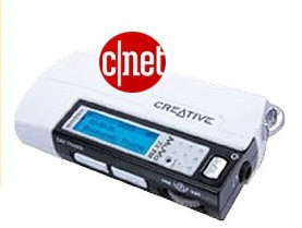 MuVo TX FM 256MB MP3 Player.  Cnet Special Offer!