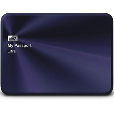 My Passport Ultra Metal Edition 1TB Blue - WDBTYH0010BBA-NESN - OPEN BOX