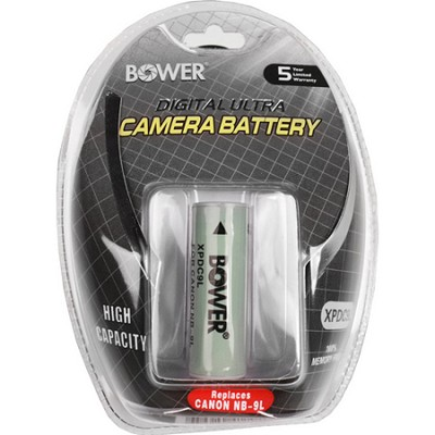 NB9L 1500MAH LI-ION Battery for the Canon Powershot ELPH 510 HS & SD4500