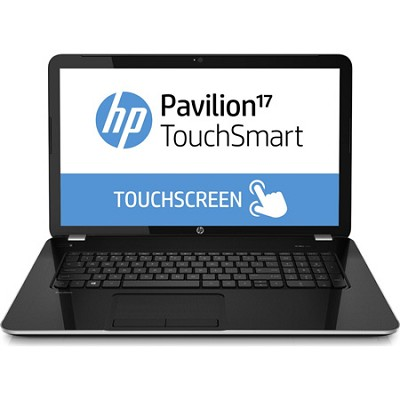 Pavilion TouchSmart 17.3` 17-e150us Notebook - AMD Elite Quad-Core A8-5550M Proc
