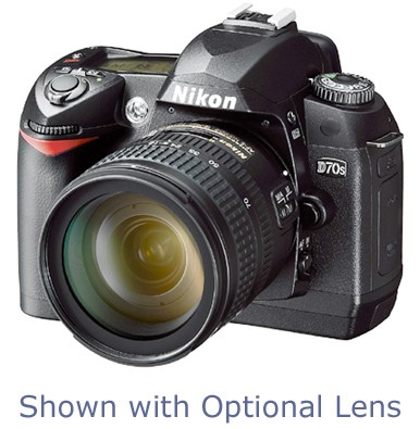 D70s Digital SLR Camera Body (Refurbished) - USA Warranty