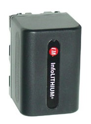NP-FP70 1500mAh P-Series Replacement Battery for Sony DCR-HC series Camcorders