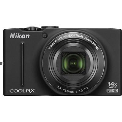 COOLPIX S8200 14x Zoom 16MP Digital Camera (Black) Refurbished