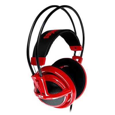Siberia V2 Full-Size Gaming Headset (Red) - MSI Edition