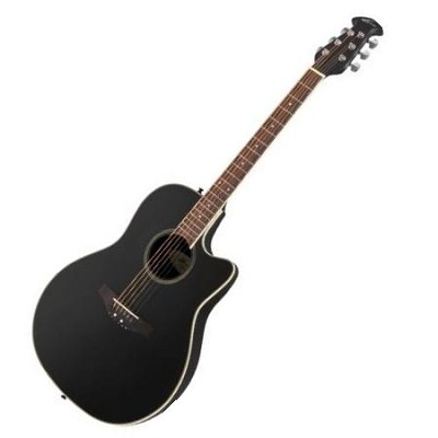 AE128-5 Acoustic Electric Guitar Black