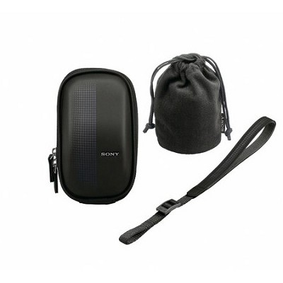 LCMEMA/B Semi-Soft Case for NEX-3 and NEX-5 Cameras (Black)