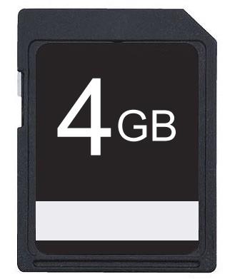 4GB SDHC Class 10 High Speed Memory Card