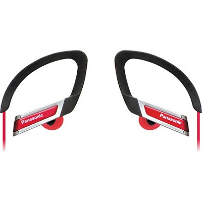 RP-HS220-R Inner Ear Clip Sports Earphones with Extension (Red)