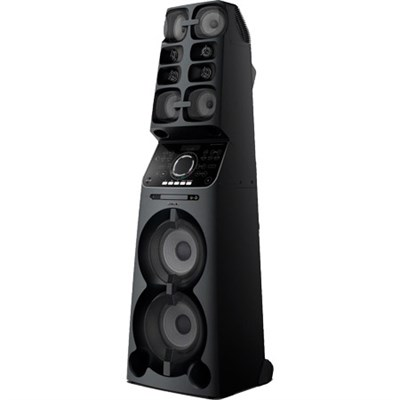 MHC-V90W High Power Music Audio System MUTEKI with Built-In Wi-Fi (2017) Black