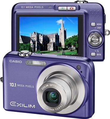Exilim EX-Z1050 10MP Digital Camera with 2.6` LCD (Blue)