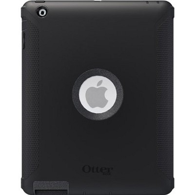 Defender Series Hybrid Case for iPad 3rd Gen - Black