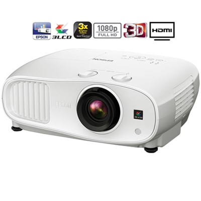 Home Cinema 3000 1080p 3D 3LCD Home Theater Projector - (Certified Refurbished)