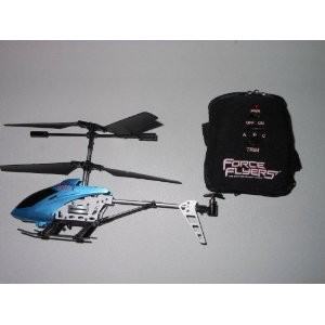 3 Channel Glove Controlled Helicopter with Gyroscope (Colors May Vary)